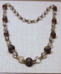 This Egyptian Necklace on display at the Art Institute in Chicago is a great source of inspiration