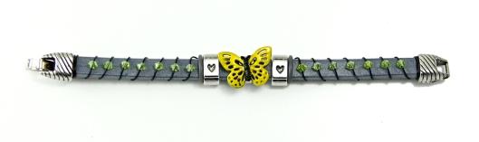Sunshine Spring Cousin Slider Bracelet by Suzann Sladcik Wilson