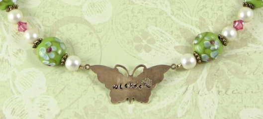 Butterfly Wishes - Pendent Close-up