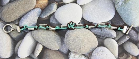 Lucky Coin Bracelet by Suzann Sladcik Wilson