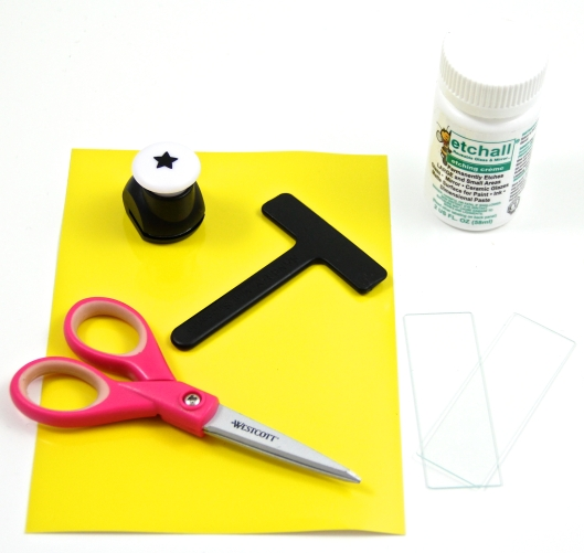 Supplies to make Etchall pendant