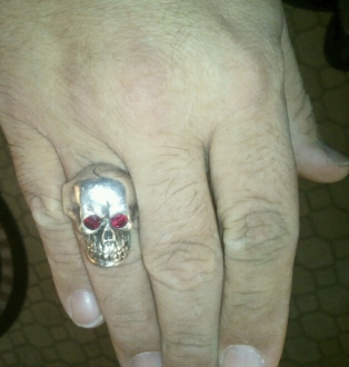 Mike's Skull Ring