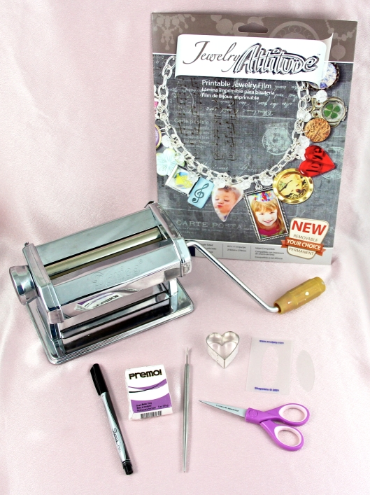 Materials to make custom jewelry pieces using Jewelry Attitude