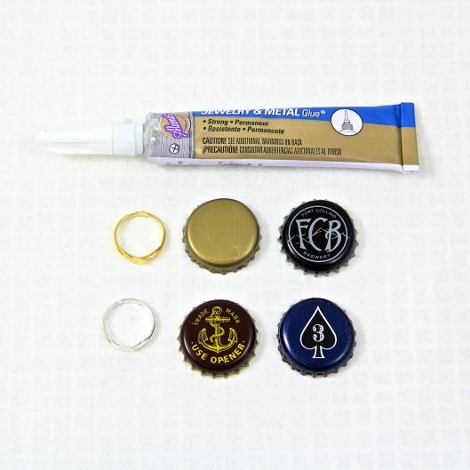 Materials for Bottle Cap Rings