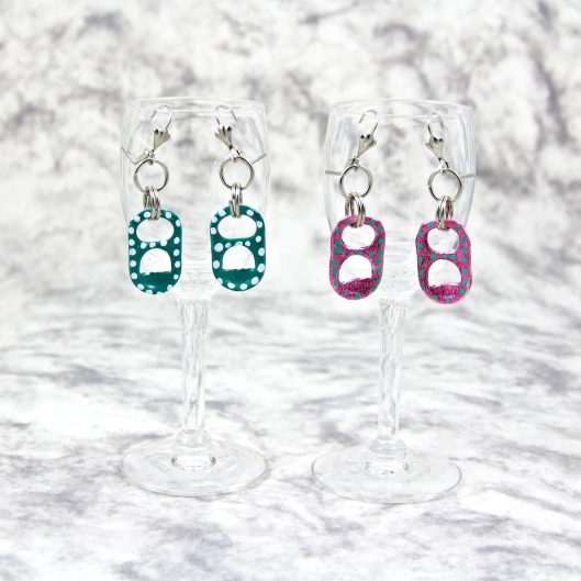 Pretty Polka Dot Earrings