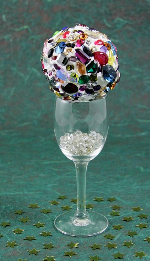 Swarovski Crystal Mosaic Ornament by Suzann Sladcik Wilson