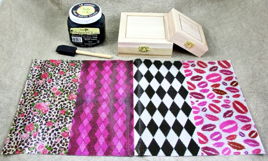 Materials for Boudior Jewelry Boxes