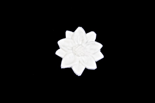 Daisy component made using Makin's Clay